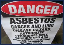 Danger of Asbestos